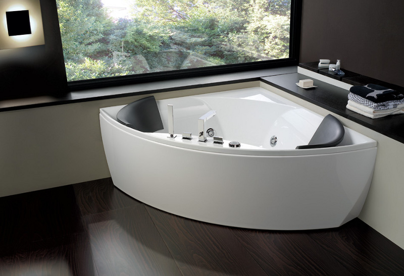 Badewannen so individuell kann entspannung sein nova bau - Vasche da bagno moderne ...