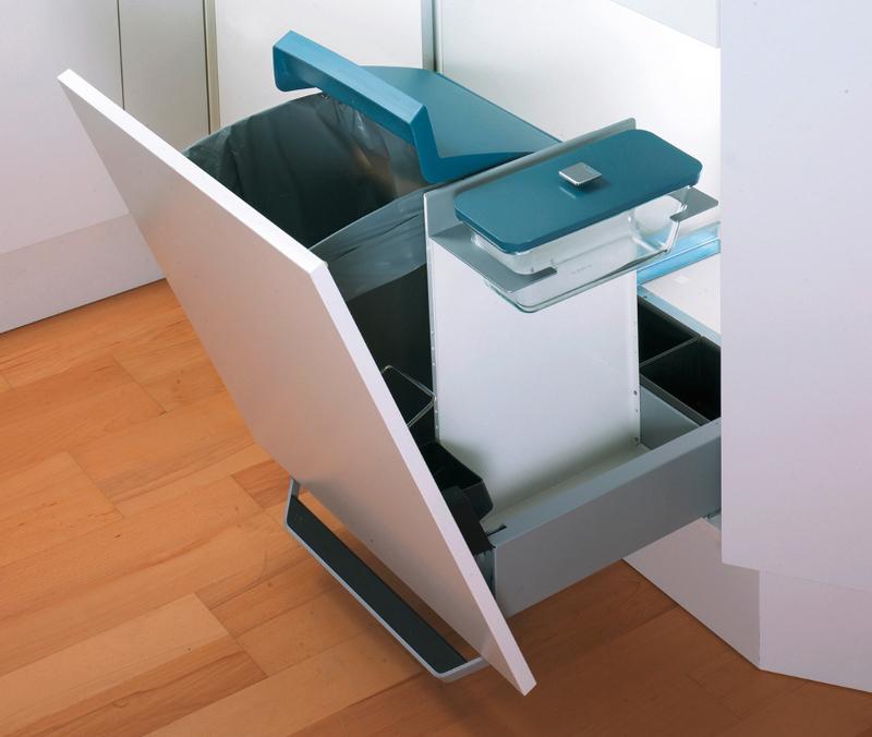Küche Abfallsystem